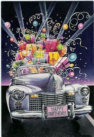Car Happy Birthday Wishes Male