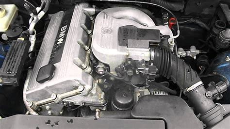 Bmw E36 318i Engine Youtube