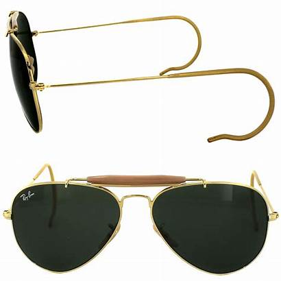 3030 Ban Ray Sunglasses Outdoorsman Gold Cheap