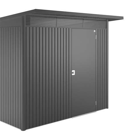 poubelle de cuisine design abri métal avantgarde xl 6 35 m ep 0 53 mm leroy merlin