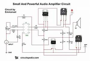 Audio Amplifier Circuit Using Transistors