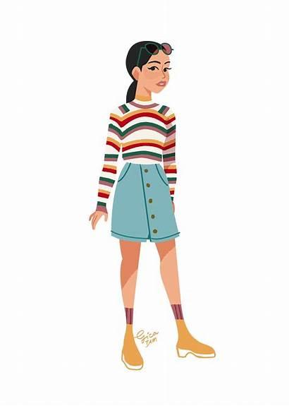 Lara Jean Outfits Boys Roupas Filme Illustrated