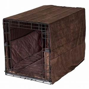 pet dreams plush dog crate set w cover bed bumper pad With dog crate bumper set