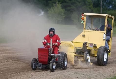 garden tractor pulling these lawn tractors pull more than their weight news