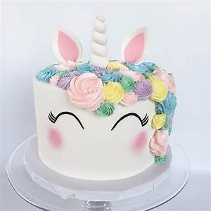 Unicorn Cake Design! A Luxe Cake Decorating Class with