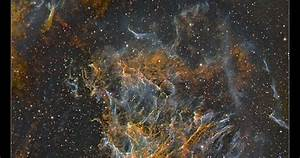 Astro Anarchy: Filaments of the Veil Nebula