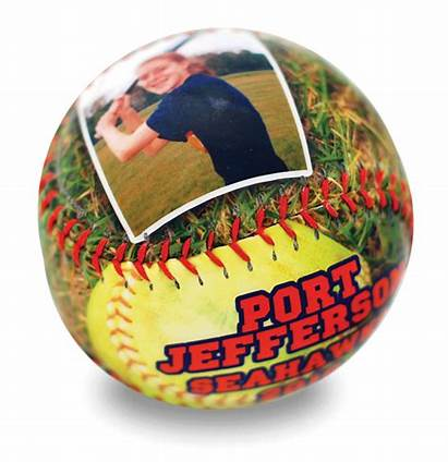 Softball Personalized Ball Gifts Balls Favors Senior