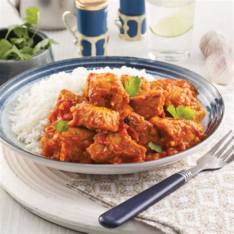 cuisine porc porc vindaloo recettes cuisine et nutrition pratico
