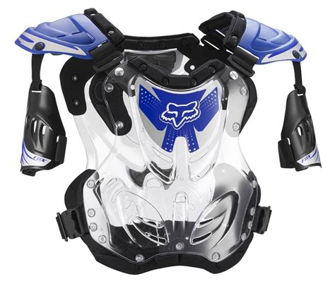 fox motocross chest protector fox racing r3 roost deflector guard chest protector large