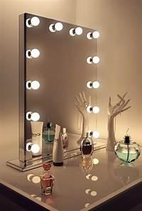 dressing room mirrors Mirror Finish Hollywood Makeup Dressing Room Mirror with ...