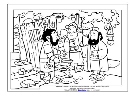 Coloring Page- The Acts Of The Apostles