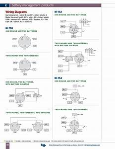 Cole Hersee Battery Switch Wiring Diagram