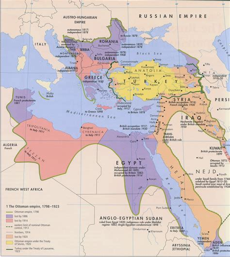 Empire Ottoman 1914 by The Gallery For Gt Ottoman Empire Map 1914