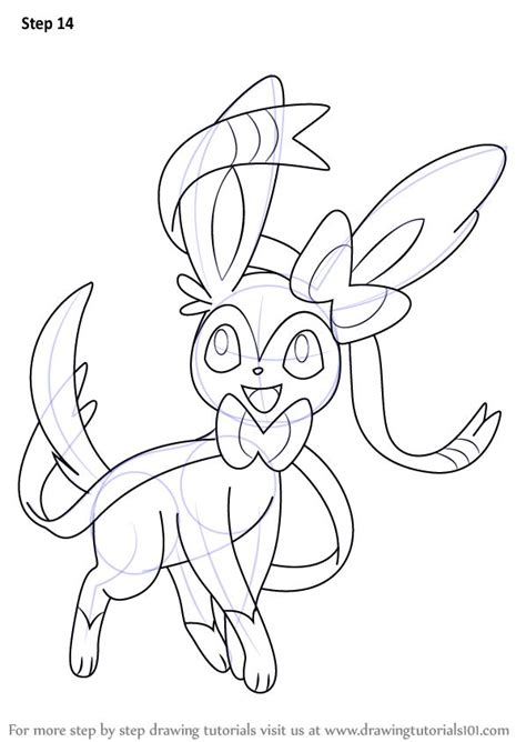 sylveon coloring pages part   resource  teaching