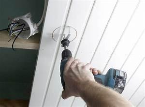 Installer Spot Plafond Existant : installer une lumi re au plafond ~ Dailycaller-alerts.com Idées de Décoration