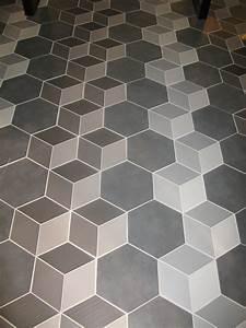 Carrelage Imitation Tomette Hexagonale : imitation carreau ciment en relief effet 3d natucer ~ Zukunftsfamilie.com Idées de Décoration
