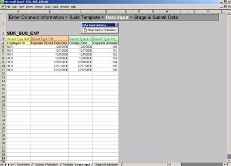 data input entering data on the data input sheet