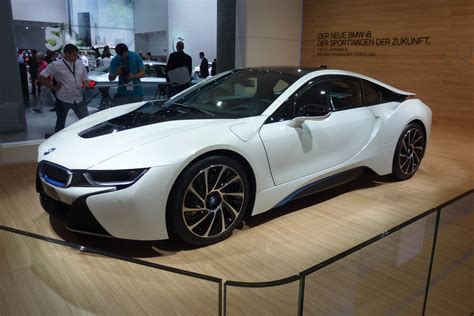 Bmw I8 Hybrid Supercar Pictures And Video: Frankfurt Motor