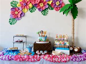 Zoë's Moana Birthday Party – A Crafted Lifestyle