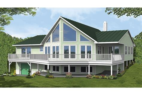 a frame house plans with garage home plan homepw77309 2838 square 3 bedroom 2