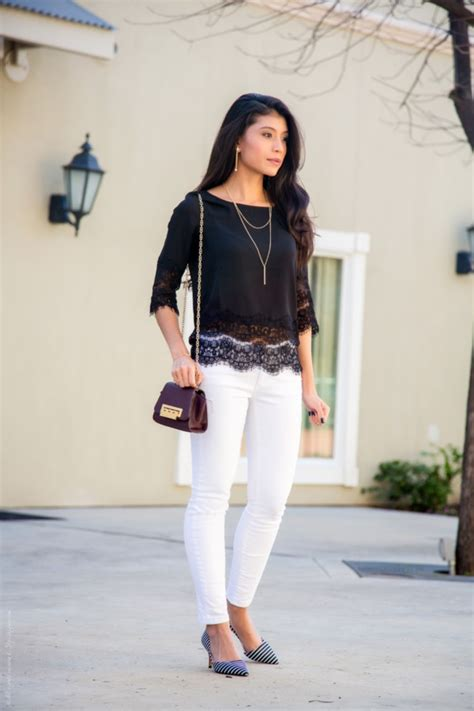 45 Elegant White Jeans Outfits for You - Her Canvas