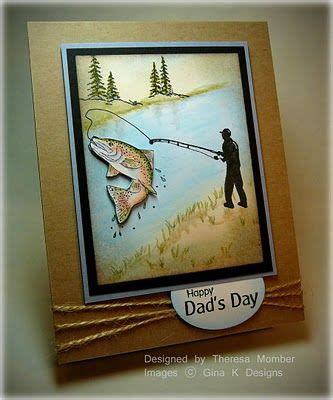 dads day fishing cards masculine birthday cards boy cards