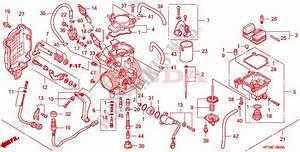 35 Honda Foreman 450 Carburetor Diagram