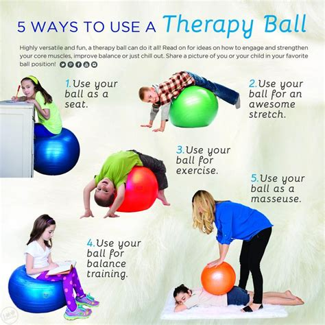 Exercise Therapy Balls | Balance & Core Strengthening