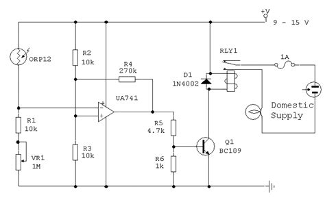Light Dependent Switch Using Orp Photocell Eeweb Community