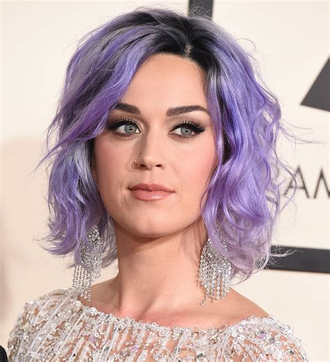Did Katy Perry Dye Her Hair Purple For The Grammys The
