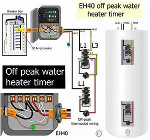 Wiring Diagram Immersion Heater Timer