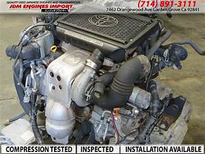 Toyota Celica Caldina 98 03 Engine 4th Gen 2 0l Turbo St215  U0026 Wiring Ecu Jdm 3sgte