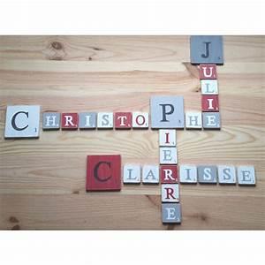 Lettre Decorative A Poser : lettre d corative poser gris ~ Dailycaller-alerts.com Idées de Décoration