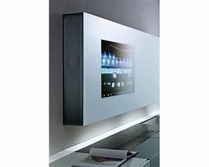 Meuble Tv Ecran Plat : meuble tv ecran plat encastrable table de lit ~ Teatrodelosmanantiales.com Idées de Décoration