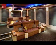 Cineak Luxury Seating Furniture And Accessories Utilized Into A Private Home Theater That Occupies Six Comfy Theater Home Theater Seats Modern Home Theater By CINEAK Luxury Seating And 300 Themed Theaters Courtesy Of Elite Home Theater Seating