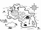 Treasure Map Coloring Pages Getcoloringpages sketch template