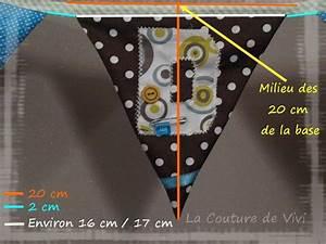 Guirlande Fanion Tissu : tuto de ma guirlande fanion le site de vivi version couture ~ Teatrodelosmanantiales.com Idées de Décoration