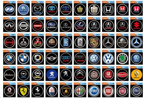 Logo Car (car Brands). Part 1