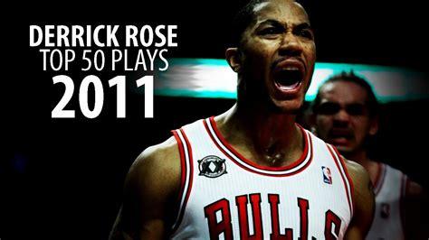 derrick rose top  plays   playoffs youtube