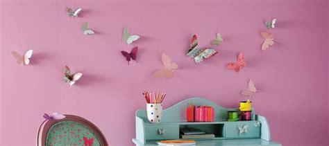 creation deco chambre décoration chambre fille papillon