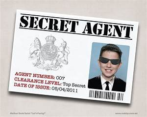 "Mother Duck Said: ""Lets Party!"": Secret Agent Spy Birthday ..."