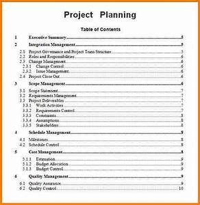 project planning template cyberuse With project plan document template free