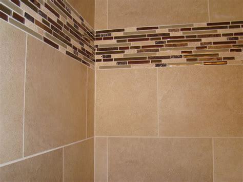 bathroom border tiles ideas for bathrooms glass tile border modern bathroom cleveland by