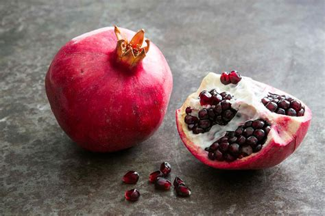 frozen pomegranate how to cut and de seed a pomegranate simplyrecipes com