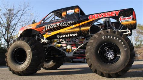 new bigfoot monster truck bigfoot monster truck goes electric