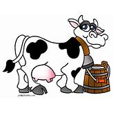 Free Clipart Of Milk Cow - ClipartFest | Milk A Cow ...