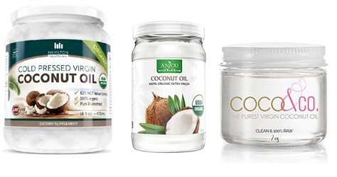 10 Best Type Of Coconut Oil Brands To Buy Online 2018