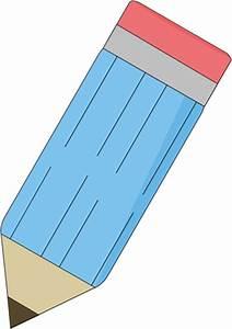 Big Blue Pencil Clip Art - Big Blue Pencil Image