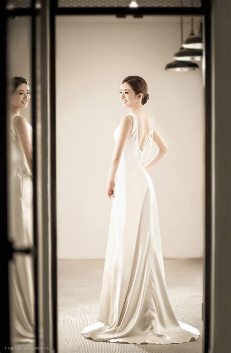 korean wedding photography classy studio photoshoot