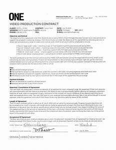 music production agreement templatevideo production With music production contract template